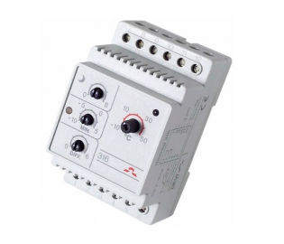 Терморегуляторы для установки на DIN-рейку