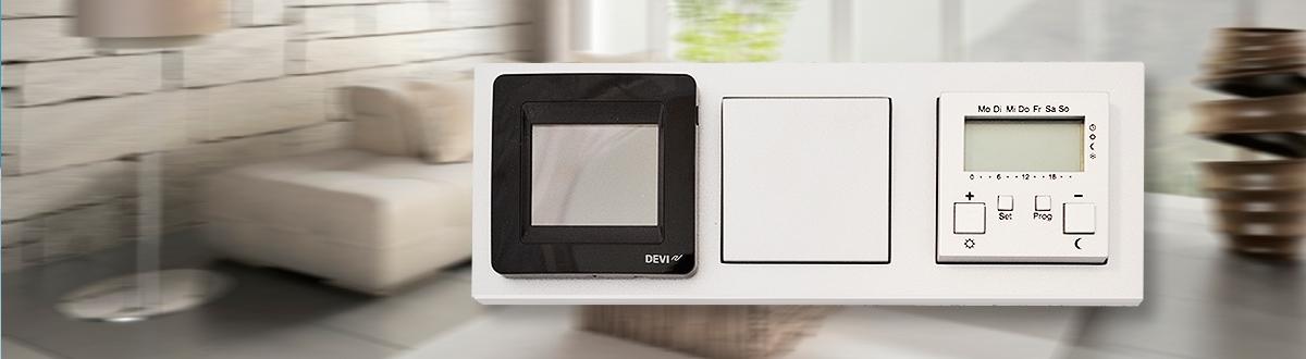 DEVIreg™ Touch vs Gira </br>3225 грн  vs  9648 грн