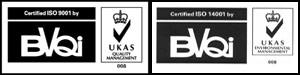 ISO 9001 и ISO 14001.