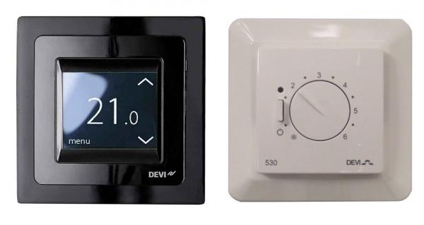 простые терморегуляторы Devi