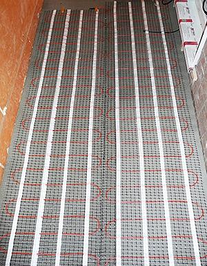 Нагревательные маты для утепления балкона