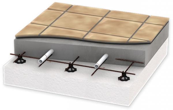 Монтаж водяного теплого пола под плитку